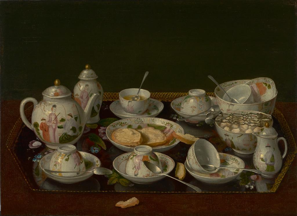 Een theestilleven van Liotard