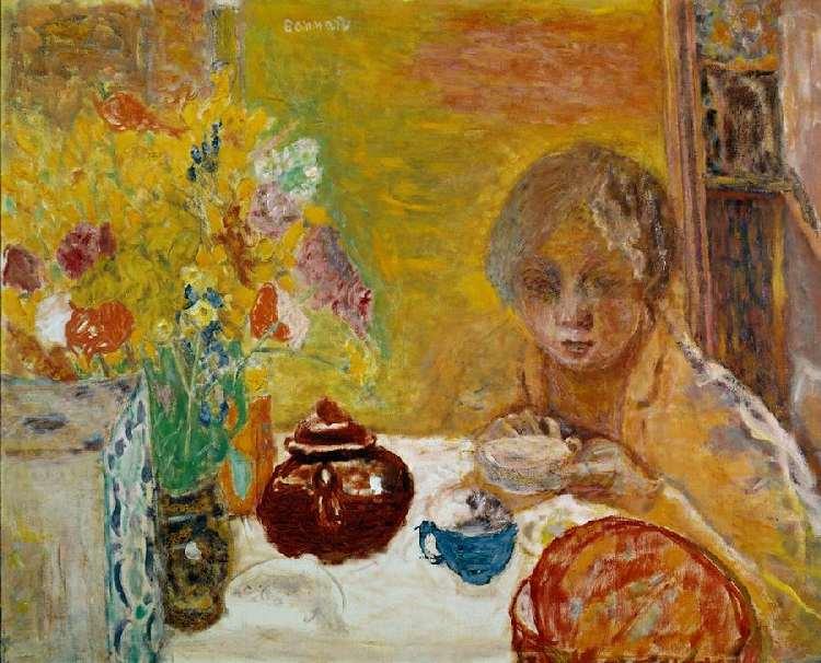 Een lunch met thee van Bonnard